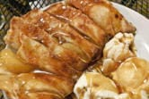 Apple empanada at Rusty Grape Vineyard. (Rick Browne for The Columbian)