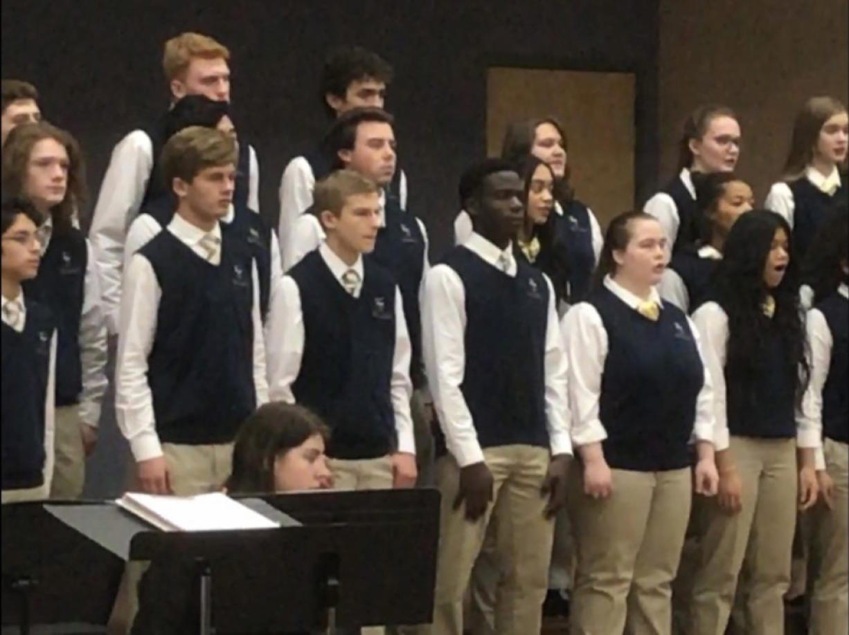 EVERGREEN HIGHLANDS: The Seton Catholic High School Concert Band and Seton Choir performed a holiday concert at St. Joseph Catholic Church on Dec. 11.