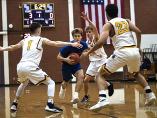 Columbia River vs Ridgefield Basketball