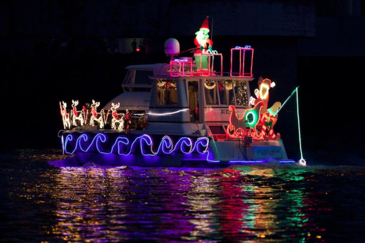 Christmas Ship Parade, Portland, Or 2020 Tonight, Saturday to give Southwest Washington good look at
