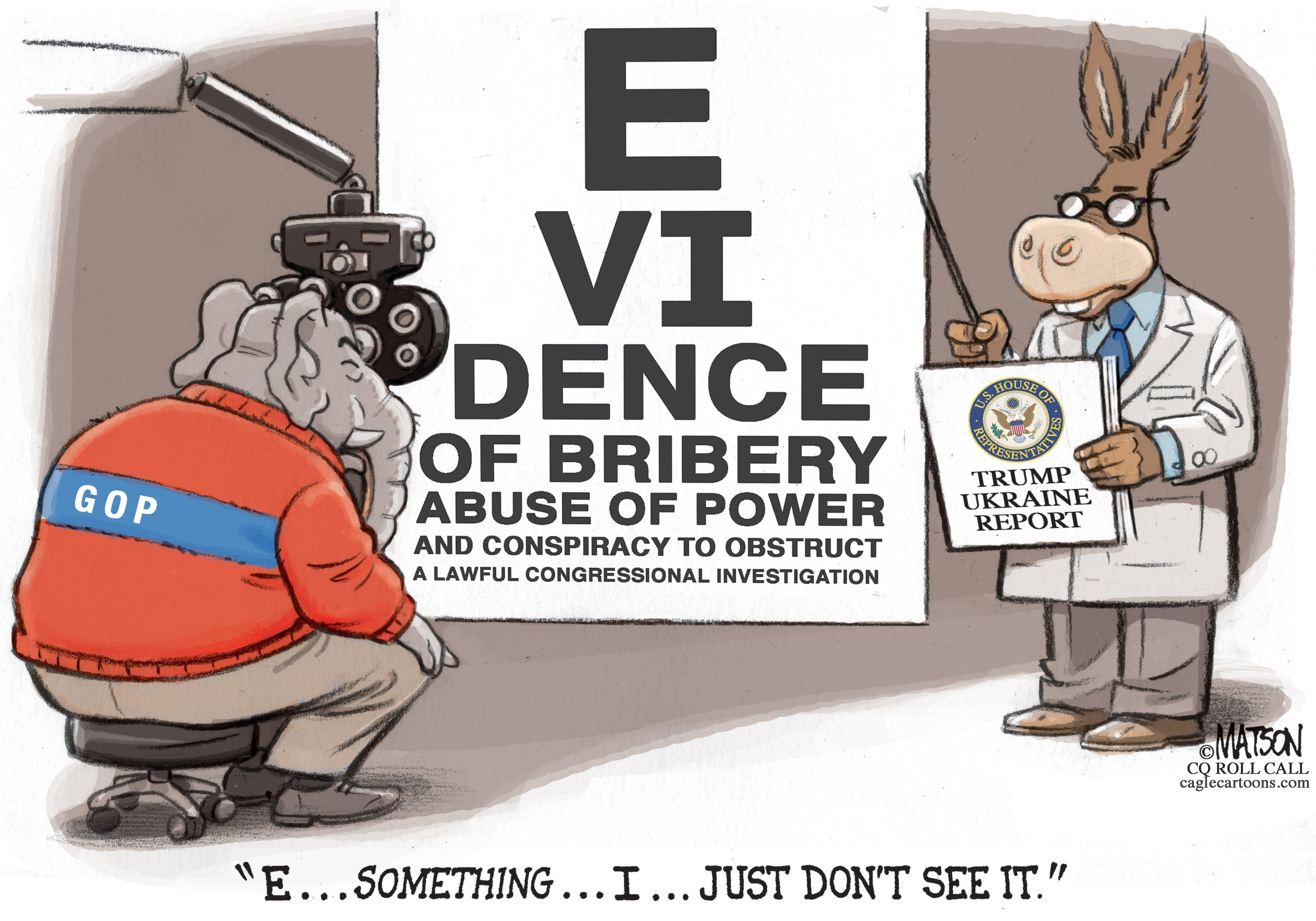 Dec. 7: Impeachment Eye Test