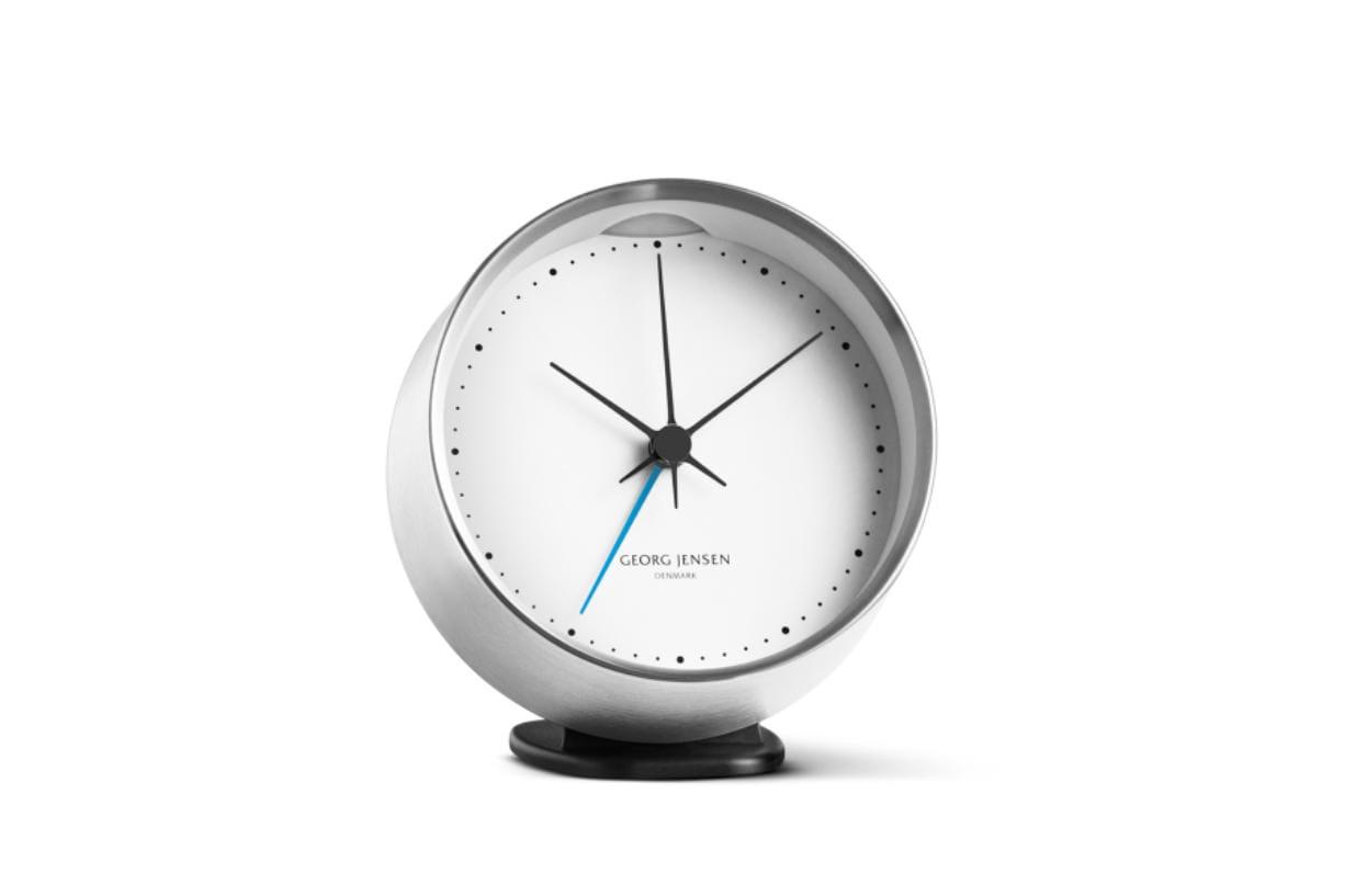 Georg Jensen: HK Clock With Alarm.