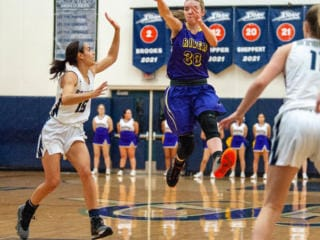 Photos: Skyview girls roll past Columbia River 49-34