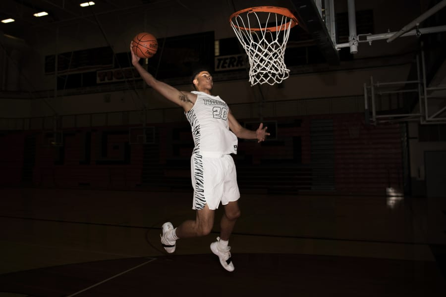Battle Ground High junior Kaden Perry has the talent take over a game. The junior has committed to play at Gonzaga