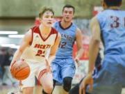 Castle Rock sophomore Landon Gardner (Longview Daily News)