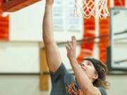 Washougal senior Julien Jones is among the football players who bring a physical mentality to basketball.