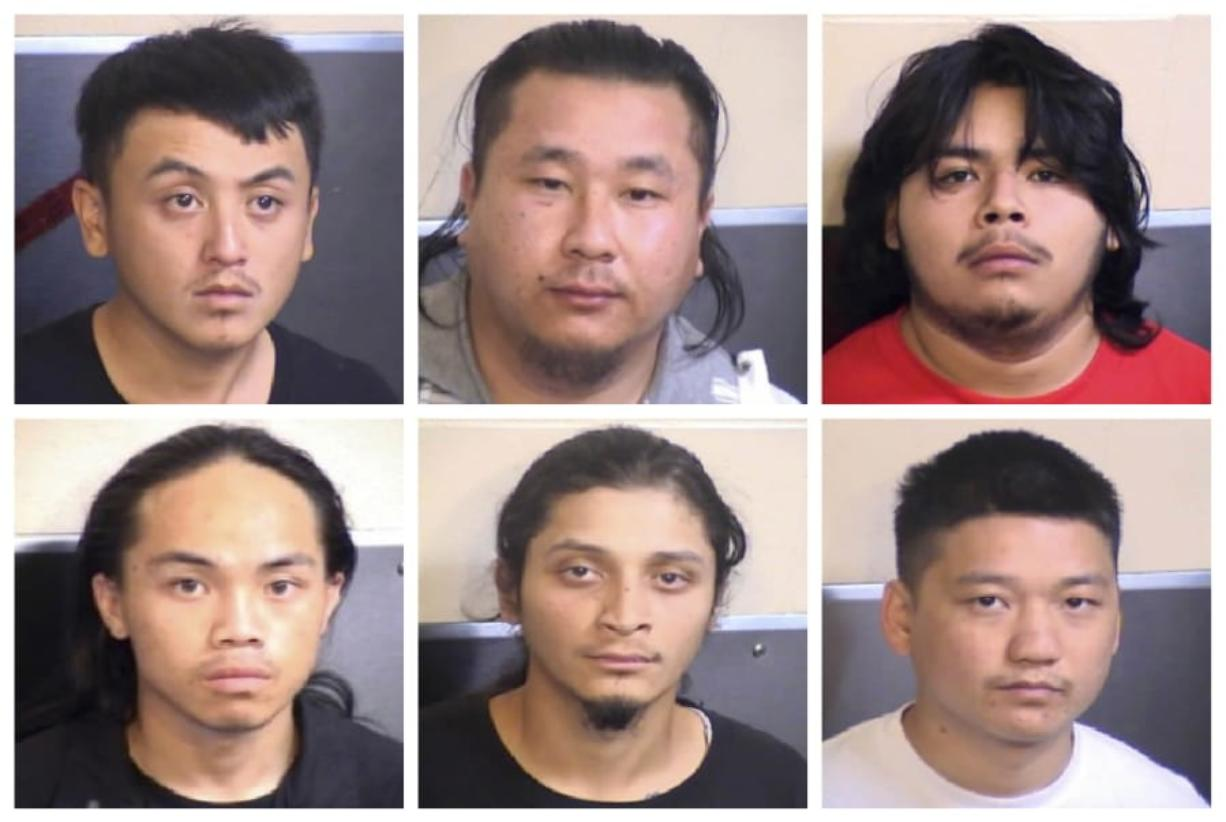 Fresno police arrest 6 suspected gang members in shooting that killed 4