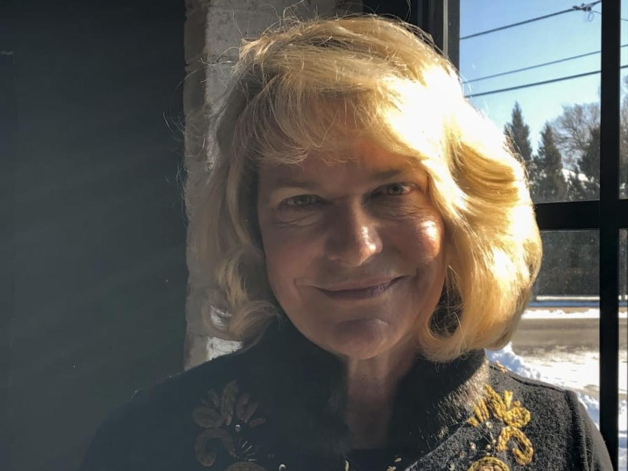 In this Dec. 16, 2019, photo, former Republican U.S. Rep. Cynthia Lummis poses for a picture in Cheyenne, Wyo. She is so far the only major candidate to replace retiring Republican Sen. Mike Enzi, of Wyoming. U.S. Rep. Liz Cheney, of Wyoming, plans to announce in early 2020 whether she will run for the Senate seat. Cheney succeeded Lummis in Congress after Lummis stepped down in 2017.
