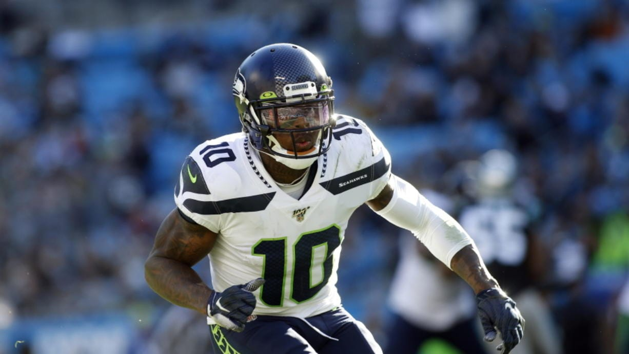 The NFL has suspended indefinitely Seattle Seahawks wide receiver Josh Gordon for violating league policies on performance enhancers. Gordon was reinstated by the NFL in August after having been suspended indefinitely in December 2018, missing the final three games of last season for violations of the league's substance abuse policy. (AP Photo/Brian Blanco)
