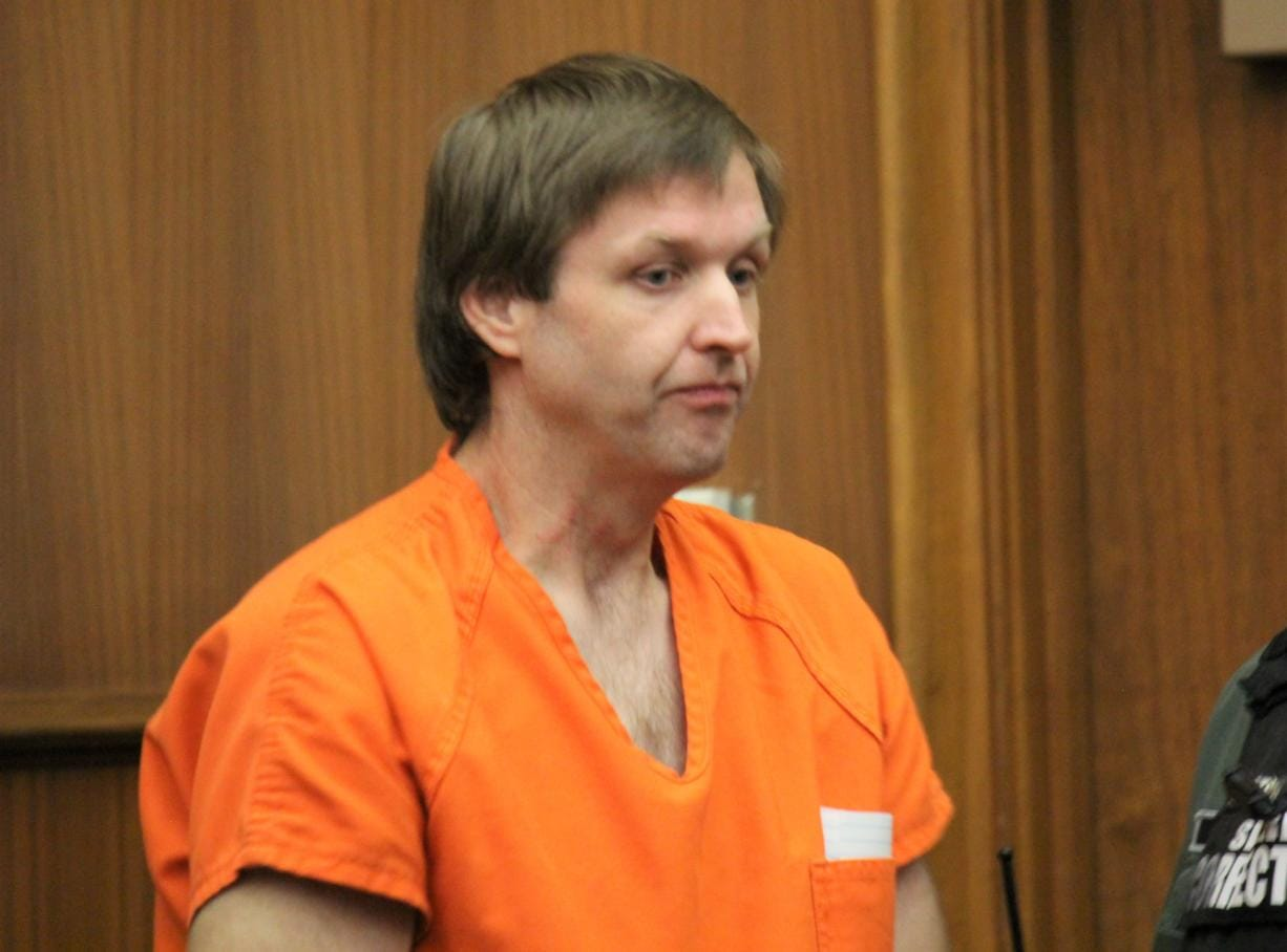 William Arnol Young, 38, was sentenced Monday to 5 1/2 years to life in prison for attempting to facilitate a sexual relationship between a man and a 12-year-old girl. In this photo, Young appears for a routine hearing in mid-December.
