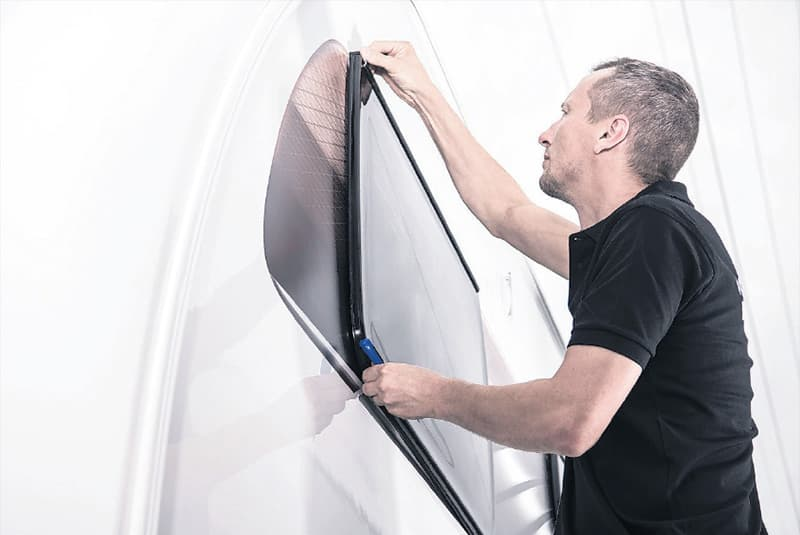 Check the inner seals of slide out windows for damage.