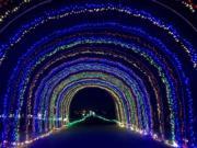 It's a bright Winter Wonderland at Portland International Raceway through Jan. 4.