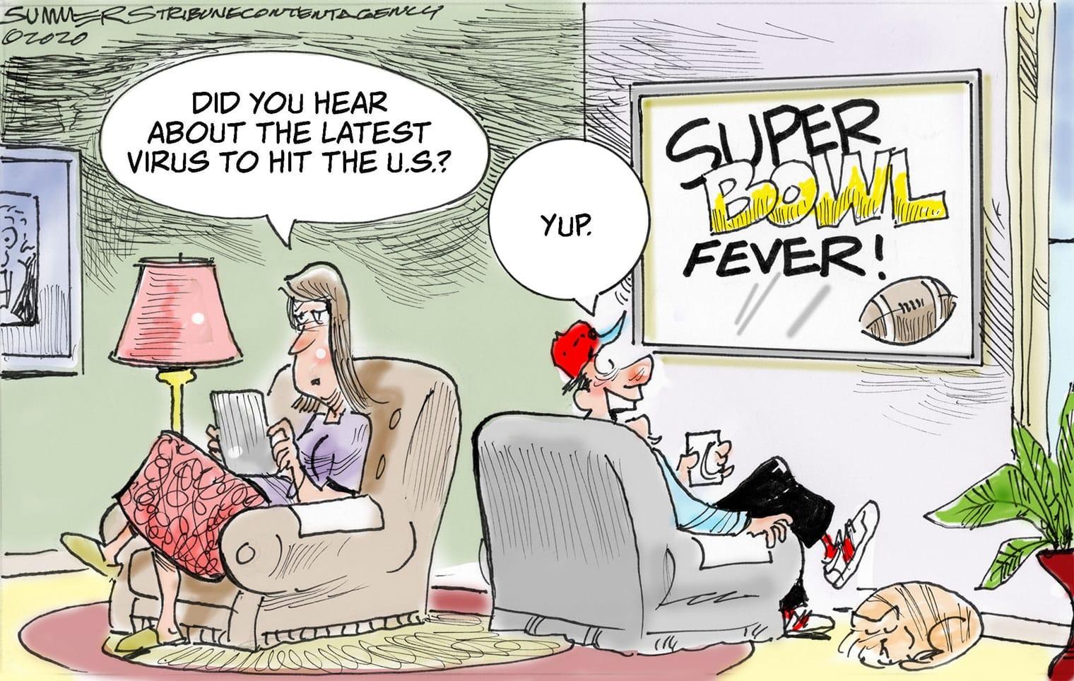 Jan. 25: Super Bowl fever