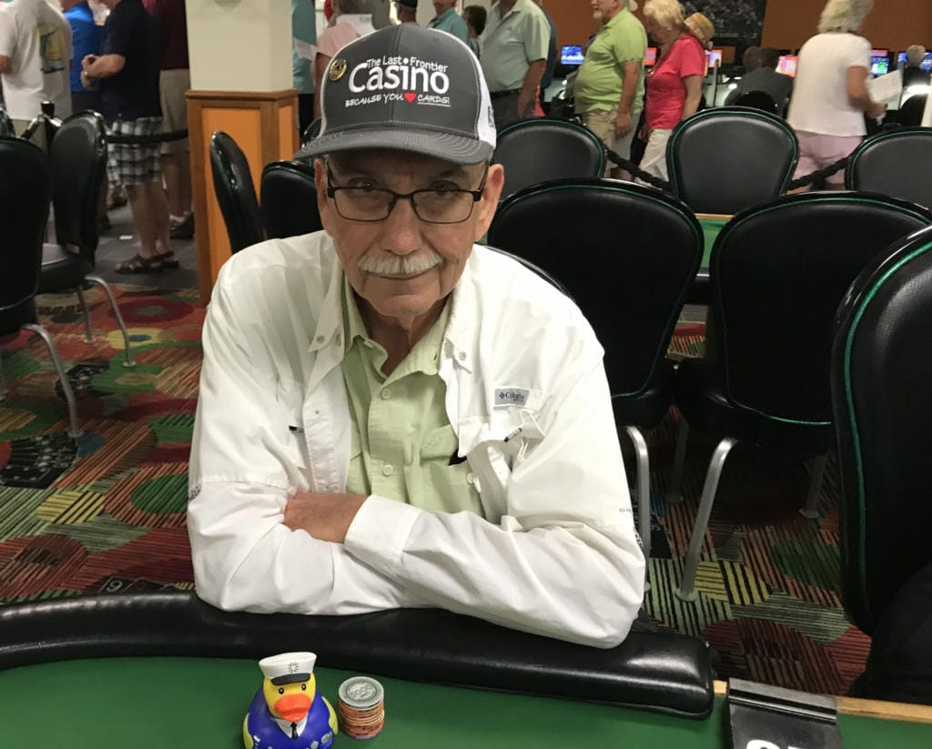 Ed Hanney is someone I would have never gotten to know if I didn't play poker to expand my friends. (Lou Brancaccio)