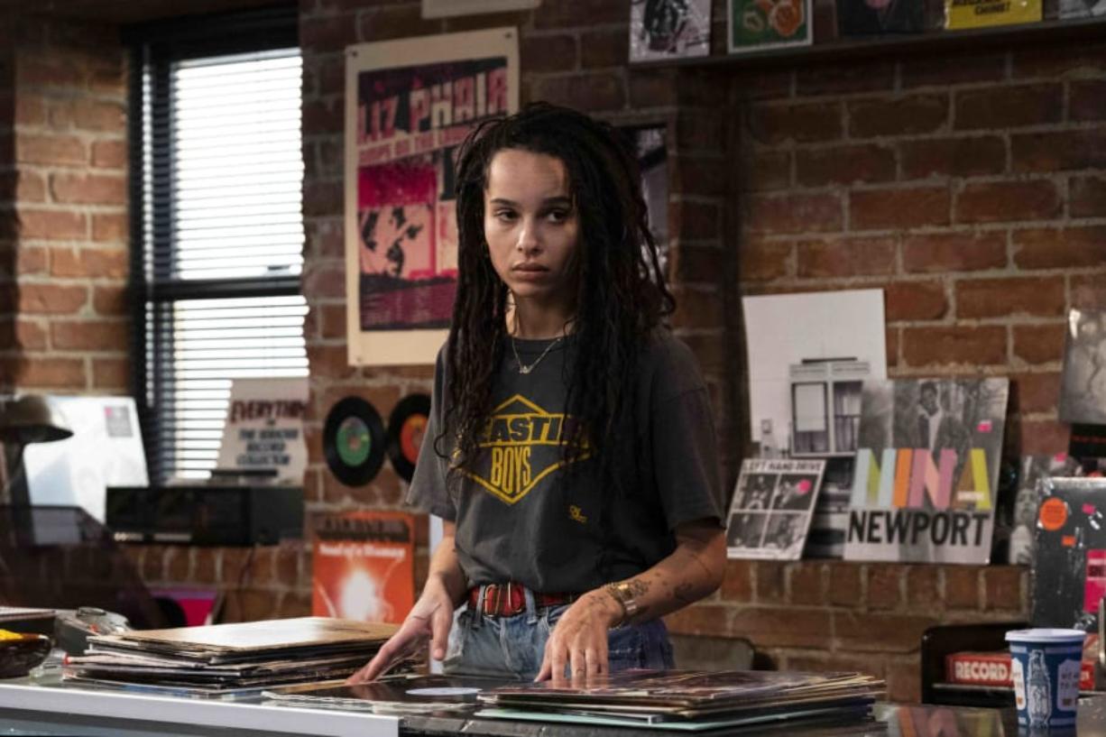 "Zoe Kravitz assumes the lead role in Hulu's reboot of ""High Fidelity."" Lisa Bonet, Kravitz's mom, played the scene-stealing Marie De Salle in the 2000 film."