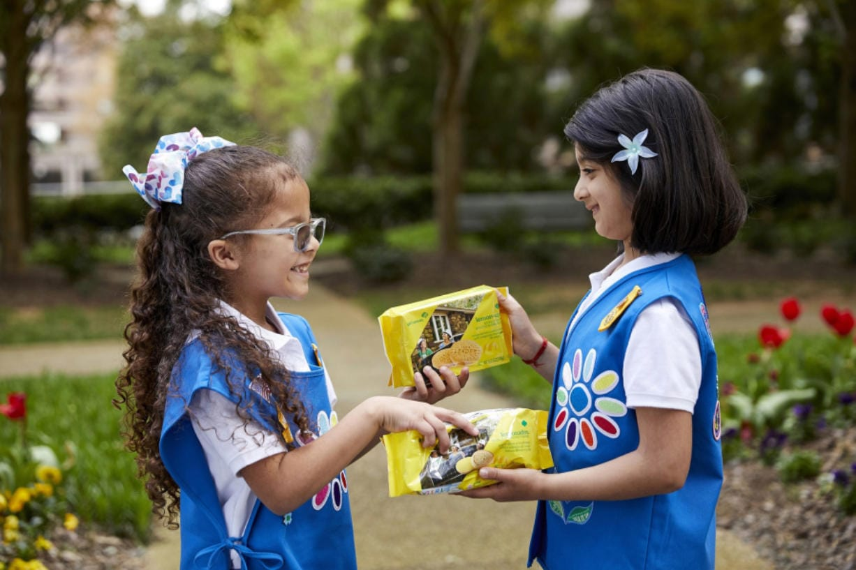This year Girl Scouts debuts refreshed cookie packaging and a new lemon cookie available in select areas, Lemon-Ups, baked with inspirational messages.