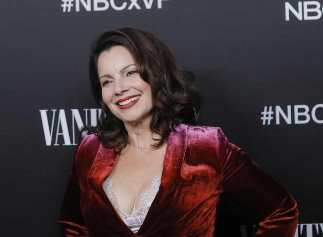 Fran Drescher attends NBC and Vanity Fair's celebration of the season at The Henry on November 11, 2019 in Los Angeles, Calif.