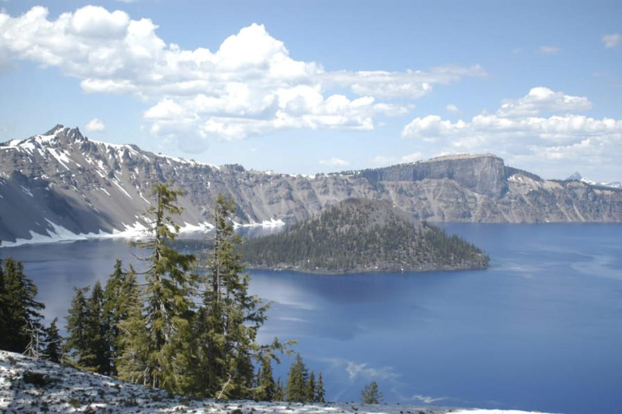 The Crater Lake National Park saw 704,512 visitors in 2019, according to park statistics -- the fourth highest number since records began in 1979. (The Herald and News files)