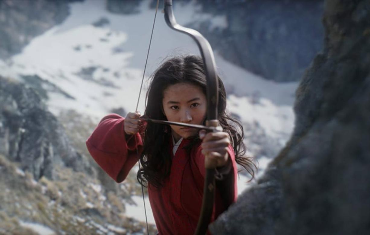 "Liu Yifei in ""Mulan."" (Disney)"
