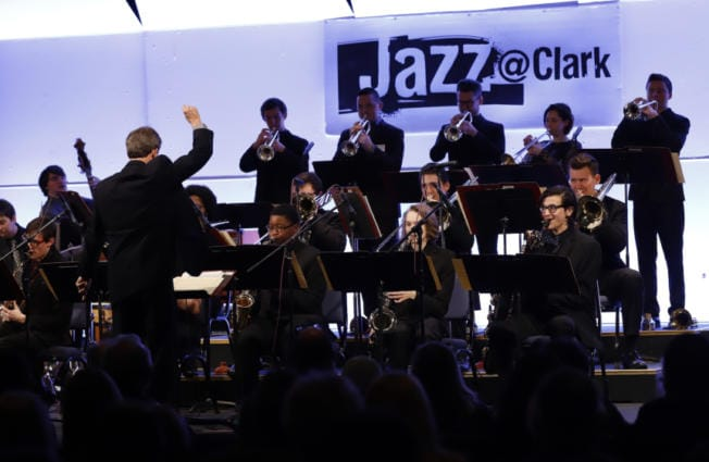 "Doug Harris, music instructor and director of Clark College's annual jazz festival, conducts last year's Clark College Jazz Ensemble. ""We're adding a big education component this time,"" he said of the 2020 festival. (The Columbian files)"