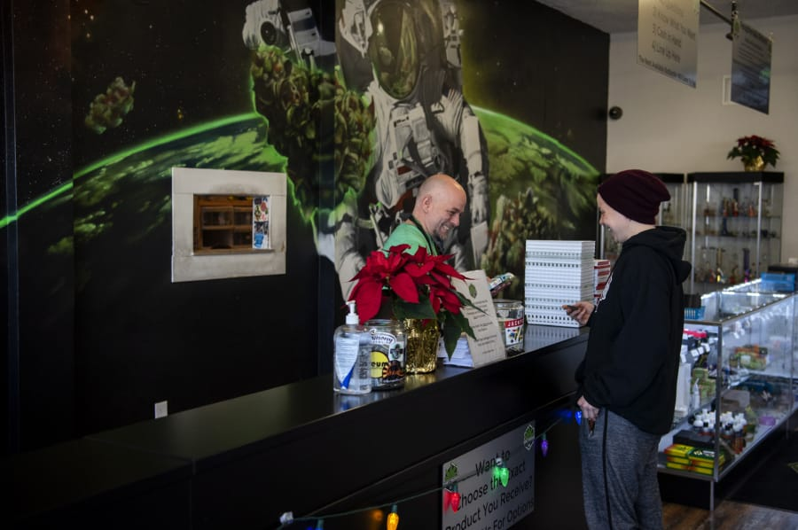 Holidays abuzz at pot shops in Vancouver