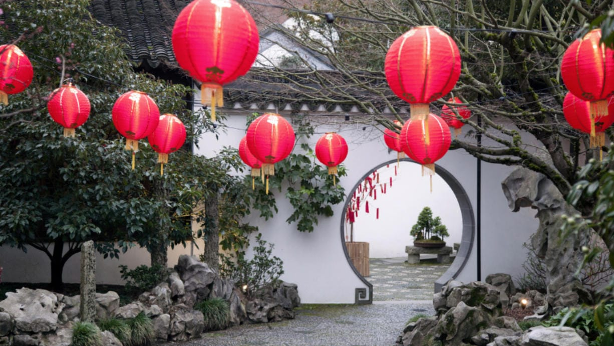 The Scholar Courtyard at Lan Su Chinese Garden in Portland -- a place for quiet reflection and inspiration. (Courtesy Lan Su Chinese Garden)