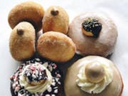 An assortment of doughnuts by pop-up shop Next Dough Neighbor.