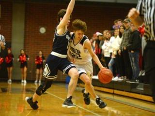 Photos: Skyview at Union boys basketball, Jan. 21