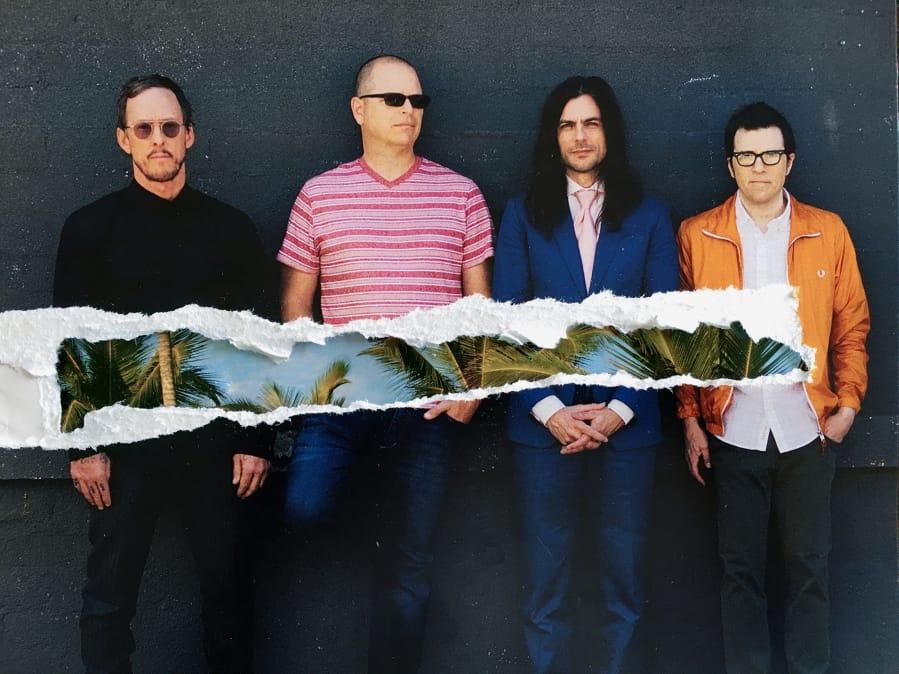 Weezer will play July 19 at ilani.