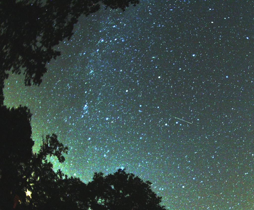 Perseid meteror. (Courtesy By Brocken Inaglory, CC BY-SA 3.0, commons.wikimedia.org/w/index.php?curid=2632873)