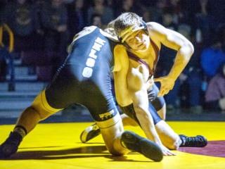 Photos: Prairie wrestling wins first league title