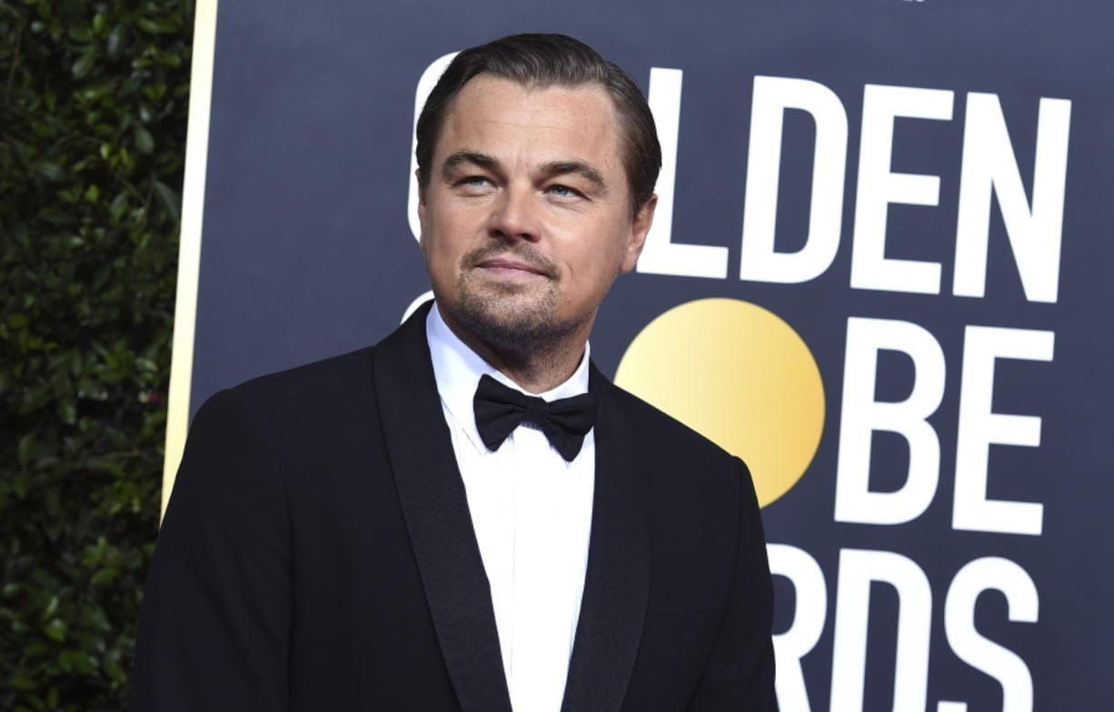 FILE - This Jan. 5, 2020 file photo shows actor and activist Leonardo DiCaprio at the 77th annual Golden Globe Awards in Beverly Hills, Calif. DiCaprio's environmental organization will donate $3 million to help the efforts toward the wildfire relief in Australia.