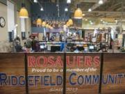 Rosauers recently opened in Ridgefield.