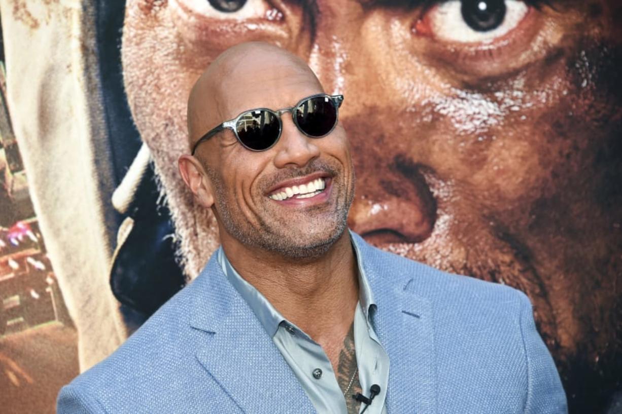 "Dwayne ""The Rock"" Johnson (Columbian files)"