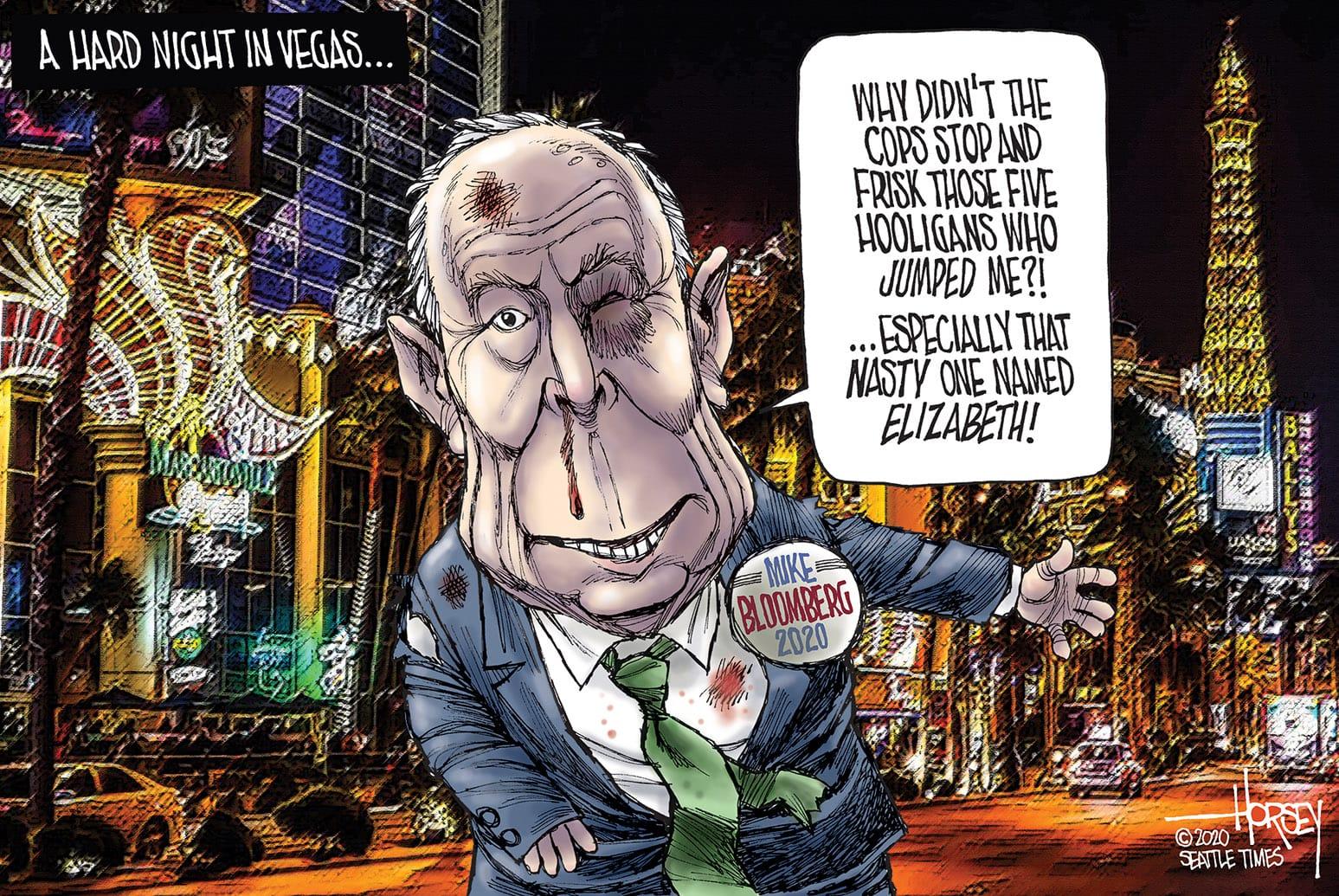Feb. 22: Bloomberg Debate