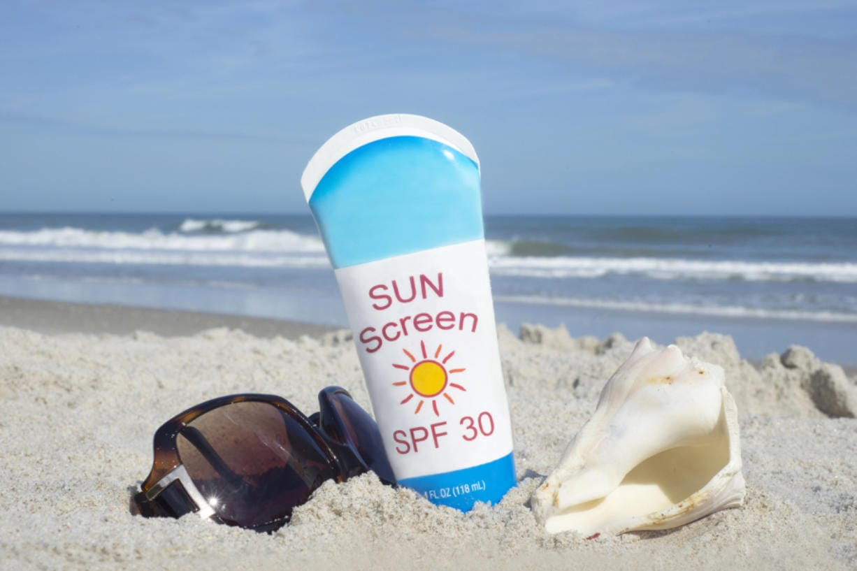 In a 2019 study, the FDA tested the absorption of active ingredients in four commercially available sunscreen products (lotion, aerosol spray, nonaerosol spray and pump spray). (Sherry Yates Young/Dreamstime)