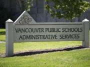 The Vancouver Public Schools Administrative Services building.