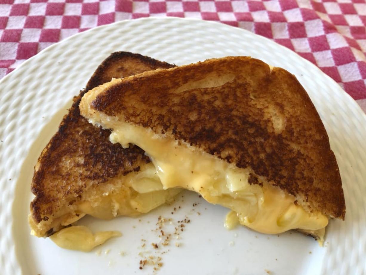 A grilled cheese sandwich. (Elizabeth Karmel)