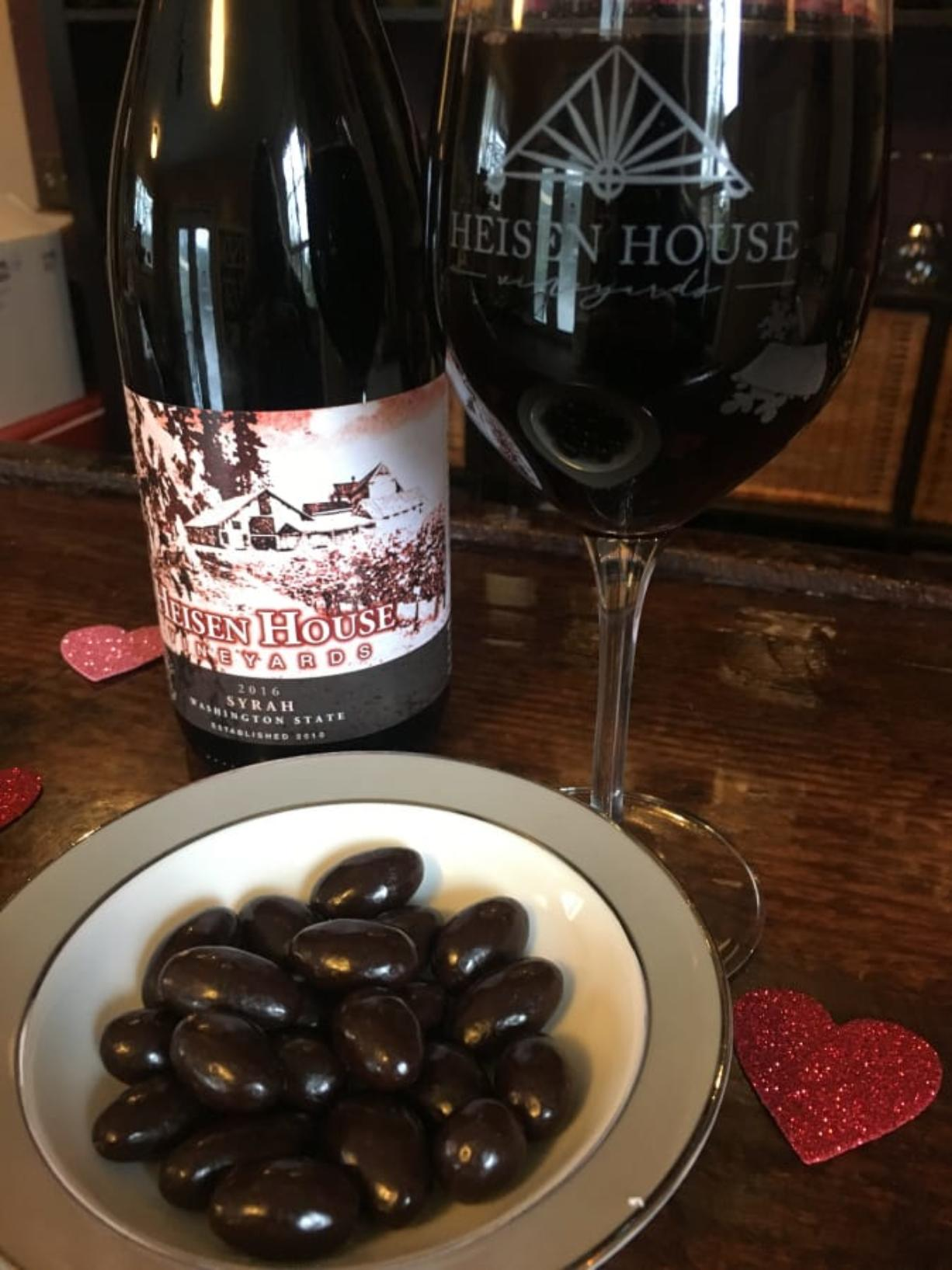 Heisen House is participating in the SW Washington Winery Association's Chocolate and Wine Weekend Tour Feb. 14-16. (Contributed photo)