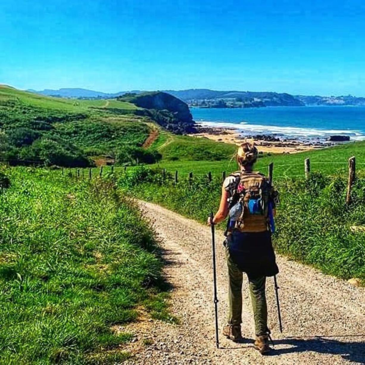 Courtesy Jennife Nilsson   After her fiancEe died, Jennifer Nilsson went on a 500-mile pilgrimage in Spain. The journey not only helped her heal, it prompted her to move from Chicago back to her hometown - Vancouver.