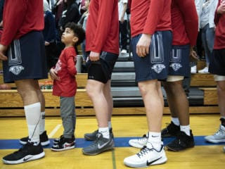 La Center vs King's Way Basketball