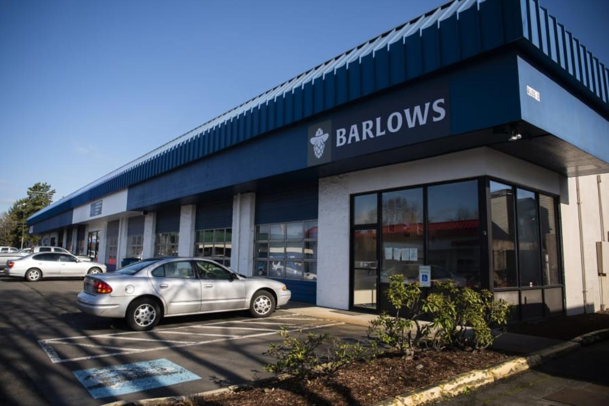 Barlows Brewery, near the northernmost border of the Cascade Highlands and Mountain View neighborhoods in east Vancouver, opens Feb. 21. (Alisha Jucevic/The Columbian)