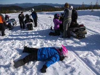 WSSB Goes Snowmobiling