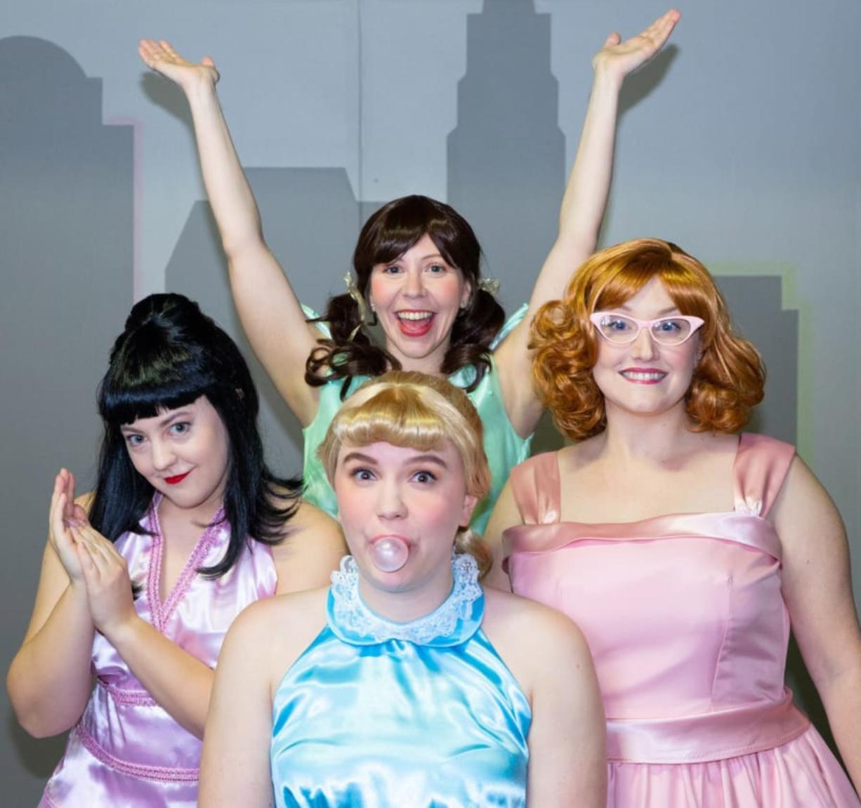 """Magenta Theater's first production of the 2020 season, """"The Marvelous Wonderettes,"""" features 35 tunes from the 1950s and 1960s and can be seen Feb. 14-20 at the downtown Vancouver theater. (Contributed photo)"""