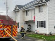 Vancouver firefighters were dispatched at 11:25 a.m. to 5200 N.E. 85th Ave. for the report of a multi-residential structure fire. The Red Cross was called in to assist a displaced family with housing.