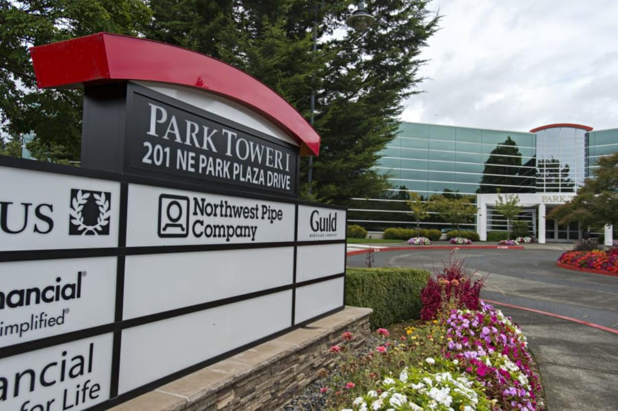 The corporate offices of Northwest Pipe Company are at 201 NE Park Plaza Drive, No. 100, in Vancouver.