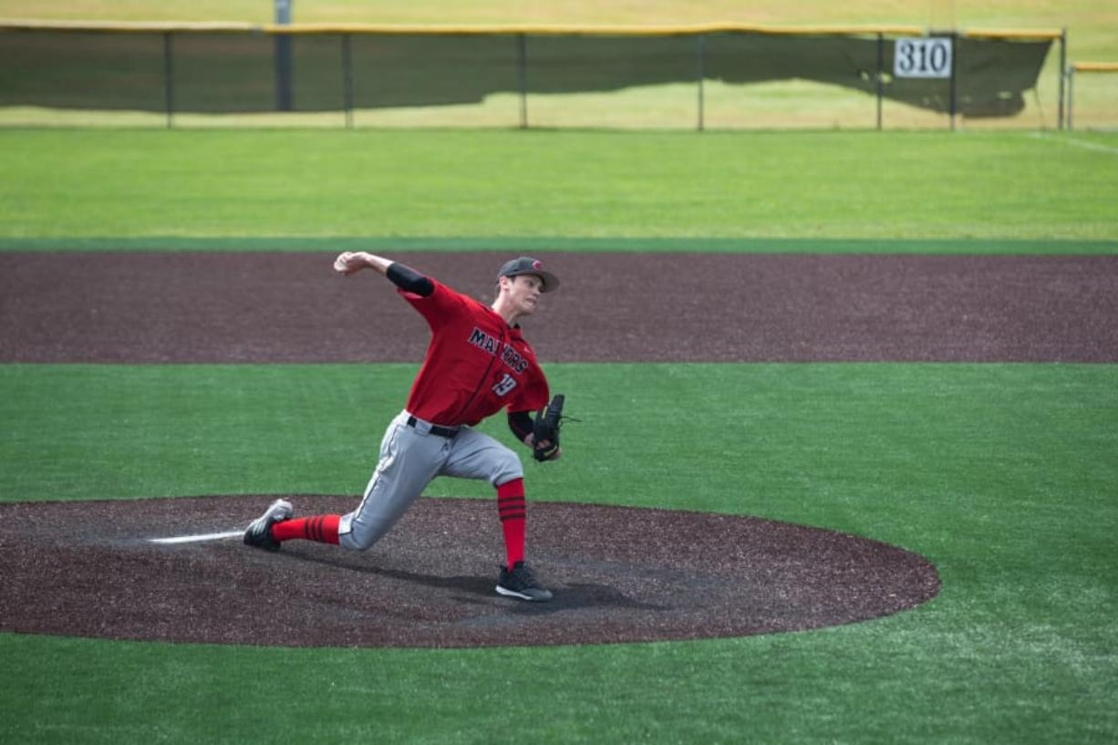 Camas pitcher Riley Sinclair helped the Papermakers reach state last spring for the first time since 2011.