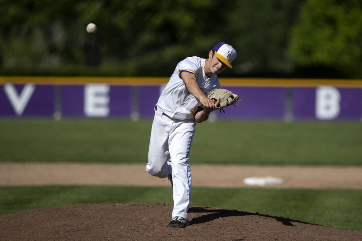 Columbia River's Nick Alder was the 2A Greater St. Helens League pitcher of the year last season.