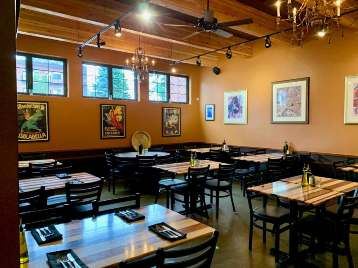 La Bottega on Main Street in Vancouver recently expanded its footprint with a new back dining area.