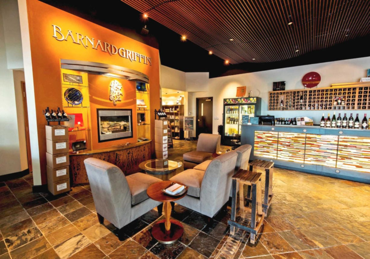 Barnard Griffin Winery's only tasting room is in Richland, but it plans to open its first satellite tasting room in the Rediviva building at The Waterfront Vancouver. It will be the seventh winery in the waterfront area.